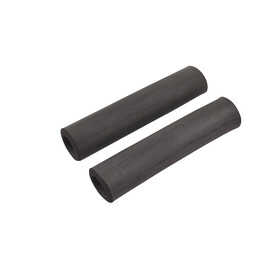 Red Cycling Products Silicon Grip Bike Grips black